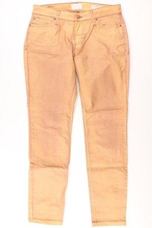 Mac Spodnie z pięcioma kieszeniami złoto Bawełna