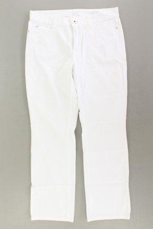 MAC Five-Pocket-Hose Größe 42 weiß aus Baumwolle