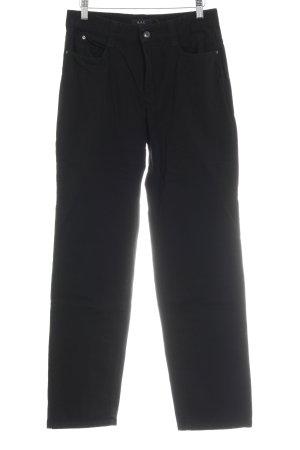 Mac Five-Pocket Trousers black simple style