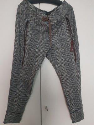 MAC Jeans Treggingsy czarny-brązowy