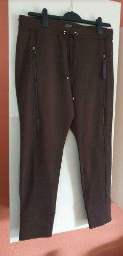 Mac Spodnie ze stretchu ciemnobrązowy