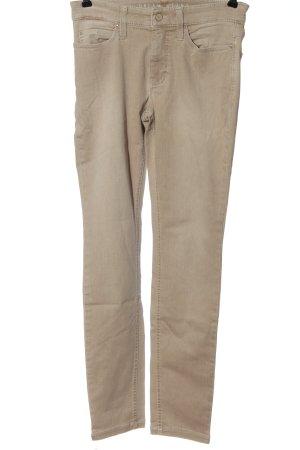 Mac Jeansy ze stretchu w kolorze białej wełny W stylu casual
