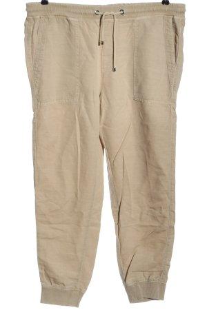 Mac High Waist Trousers cream casual look
