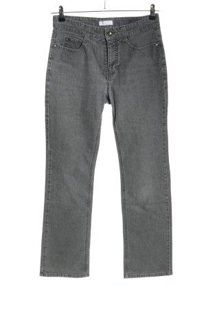 Mac High Waist Jeans hellgrau Casual-Look