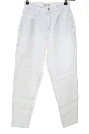 Mac High Waist Jeans weiß Casual-Look