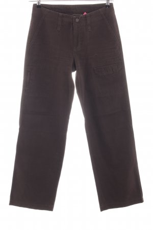 Mac Hoge taille jeans bruin casual uitstraling