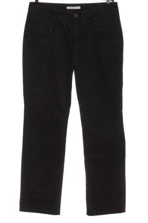 Mac High Waist Jeans schwarz Casual-Look