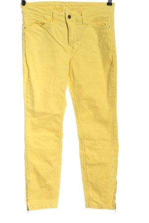 Mac High Waist Jeans blassgelb Casual-Look