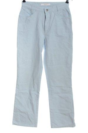 Mac Jeansy z wysokim stanem niebieski W stylu casual