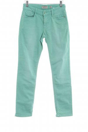 Mac Hoge taille jeans munt casual uitstraling