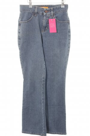 Mac High Waist Jeans stahlblau Casual-Look