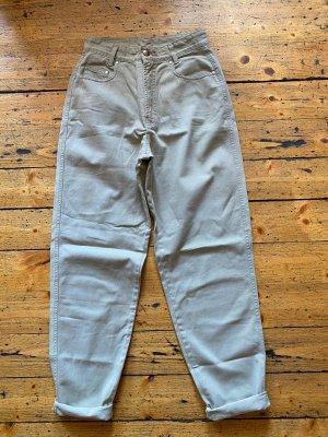 MAC Jeans Vaquero estilo zanahoria beige claro