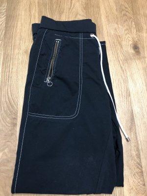 MAC Jeans Pantalon capri noir