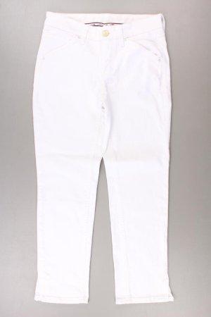 MAC Hose Größe 34/L26 weiß aus Baumwolle