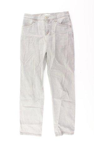 MAC Hose Größe 36 grau aus Baumwolle