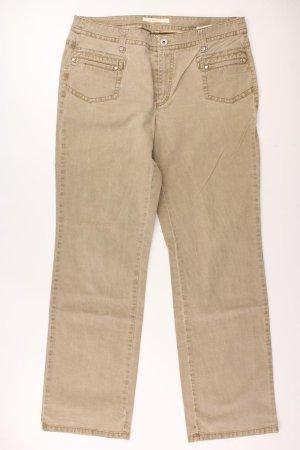 MAC Hose Größe 42 braun aus Baumwolle