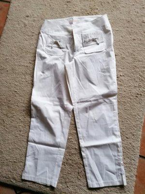 mac- woman Pantalon 7/8 blanc