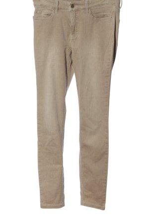 Mac Jeansy ze stretchu brązowy Melanżowy W stylu casual