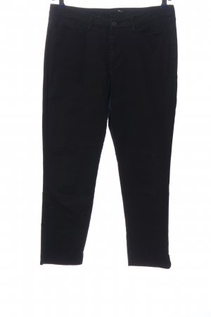 Mac Low-Rise Trousers black business style