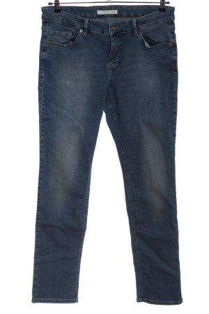 Mac Jeans vita bassa blu stile casual