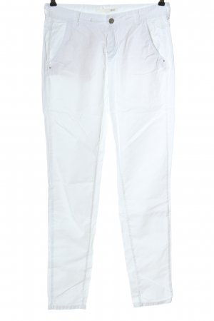 Mac Jeans vita bassa bianco stile casual