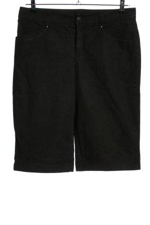 MAC Jeans 3/4 Jeans schwarz Casual-Look