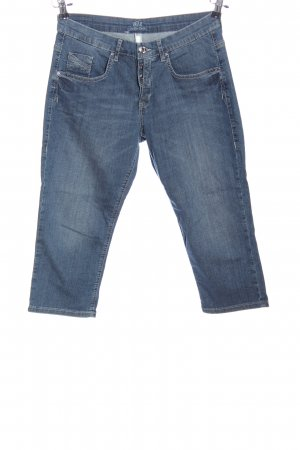 MAC Jeans Vaquero 3/4 azul look casual