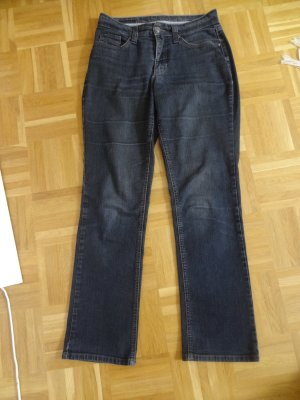 MAC Jeans Straight Leg Jeans blue cotton