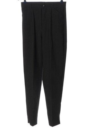 MAC Jeans 7/8-Hose schwarz Streifenmuster Casual-Look