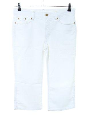 MAC Jeans 7/8-Hose weiß Casual-Look