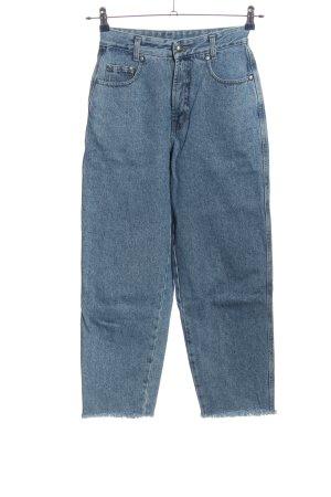 MAC Jeans 7/8 Jeans blau Casual-Look