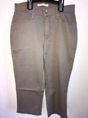 MAC Jeans Spodnie biodrówki szaro-brązowy-beżowy