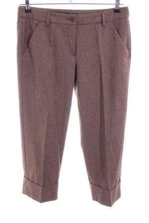 MAC Jeans Pantalón de vestir marrón moteado look casual