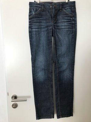 MAC Jeans Ashley Used Look Gr. 36 Länge 32