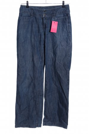 MAC Jeans Boot Cut Jeans blau Casual-Look