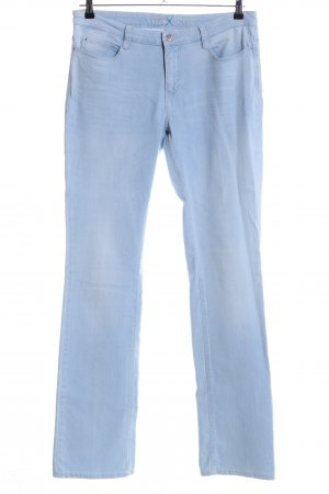 MAC Jeans Boot Cut Jeans blau Casual-Look