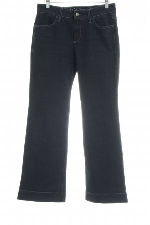 MAC Jeans Boot Cut Jeans dunkelgrau-schwarz Casual-Look
