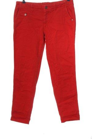 MAC Jeans Boyfriendjeans rot Casual-Look