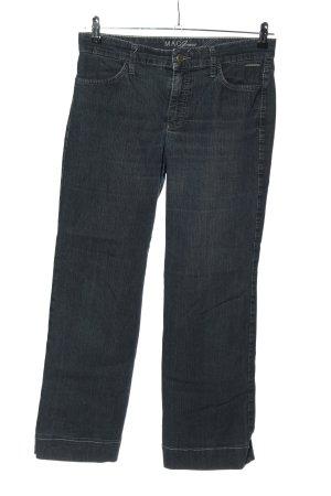 MAC Jeans Boyfriendjeans blau Casual-Look