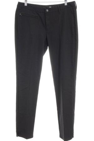 MAC Jeans Stretchhose schwarz Business-Look