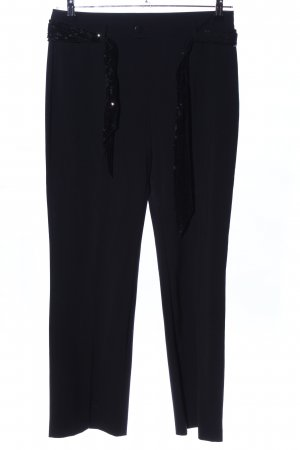 MAC Jeans Bundfaltenhose schwarz Casual-Look