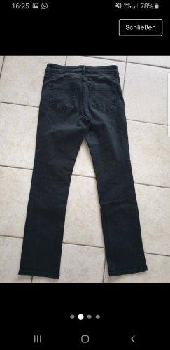 MAC Jeans Pantalón de tubo gris antracita