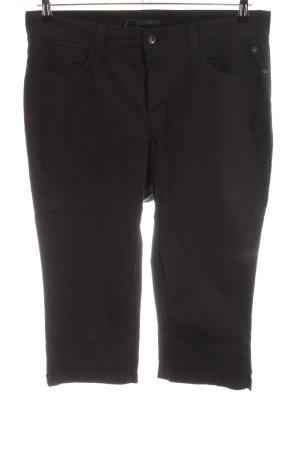 MAC Jeans Pantalone Capri nero stile casual