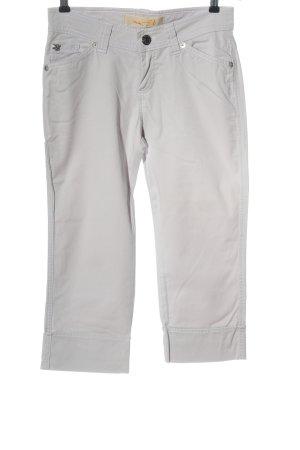 MAC Jeans Caprihose wollweiß Casual-Look