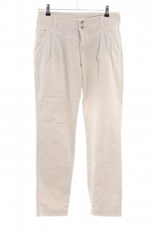 MAC Jeans Chinohose creme Casual-Look