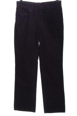 MAC Jeans Corduroy Trousers black casual look