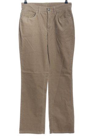MAC Jeans Cordhose wollweiß Casual-Look