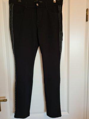 MAC Jeans Pantalon strech noir