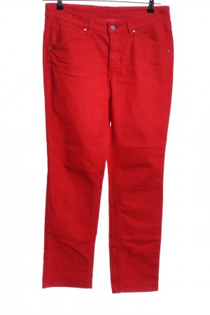MAC Jeans Five-Pocket-Hose rot Casual-Look