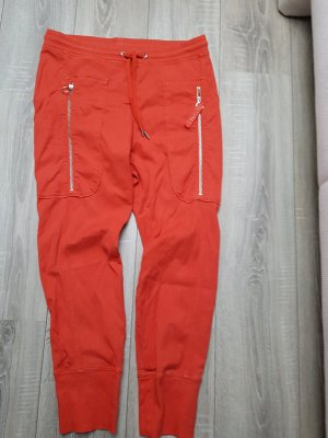 MAC Jeans Carrot Jeans neon orange-red cotton